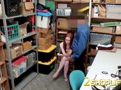Ella gets into discussion with officer before he bangs her hard and deep