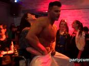 Naughty girls get completely wild and naked at hardcore party