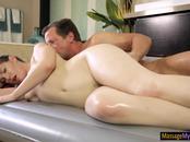Sexy masseuse Ella Nova erotic fucking after giving massage