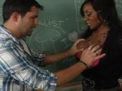 Diamond Jackson Fucked By Student On Desk