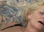Beautiful BLonde Granny  Services, Boob-Fucks And Bangs This Big Penis