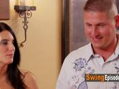 Amateur swinger people have fun in this roulette game, everything ends in hardcore sex orgy