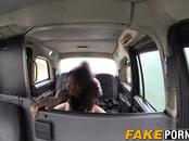 Hot busty ebony Kiki gets horny and fucks her taxi driver