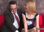 Sultry bookworm was tempted and drilled by her senior teacher