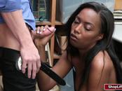 Busty Daya Knight gets her pussy fucked by LP officer huge cock