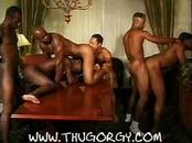 Ebony gays in hardcore action