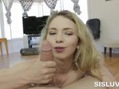 Angel Smalls Giving Head and Drilled by Large Wang