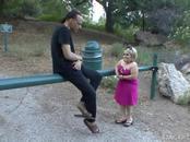 Flirtatious Blonde Midget Sexpot Enjoys Giving Head & Sex