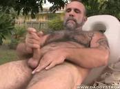 Big Guy Displays Dick Massage